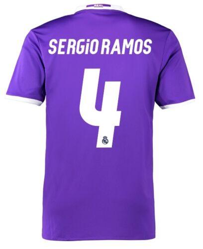 Maillot Real Madrid Away Champions League Final Cardiff 2017-Sergio Ramos 4