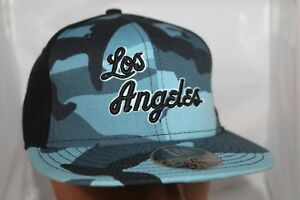 promo code e95c4 d8c27 Image is loading Los-Angeles-Lakers-New-Era-NBA-Camo-Basic-