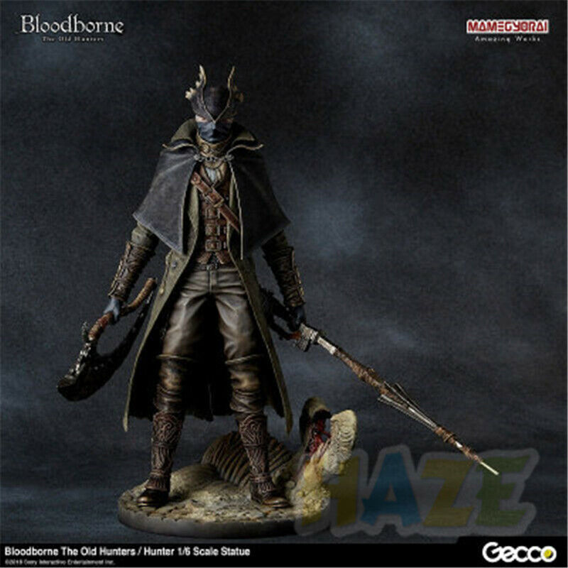 Game bloodborne the old  hunters action figure model toy 12  nouveau  2018 magasin