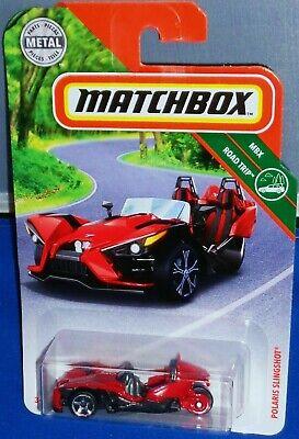 2019 MATCHBOX MBX ROAD TRIP POLARIS SLINGSHOT RED 66//100