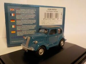 Ford-Popular-azul-modelo-coches-Oxford-Diecast