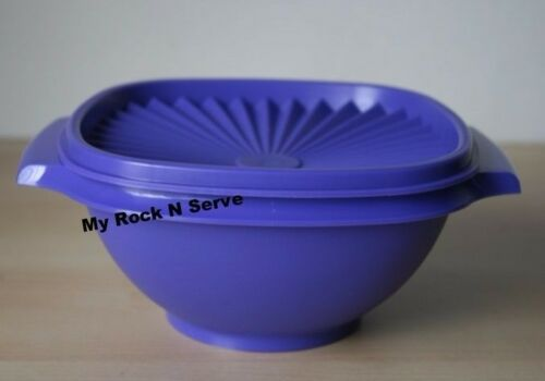 Tupperware Small  Classic Servalier Salad  Bowl Container 900 ml New