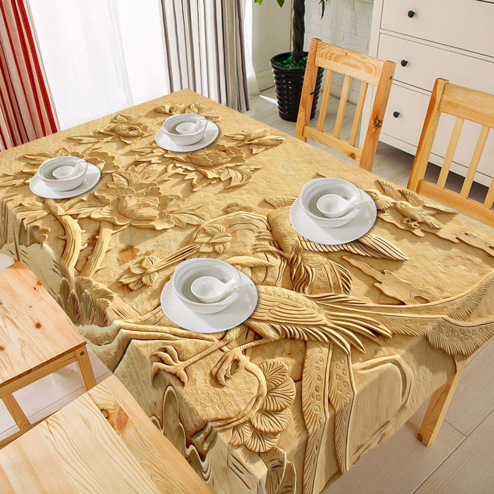 3D Adorn Tablecloth Table Cover Cloth Cloth Cloth Birthday Party AJ WALLPAPER UK Lemon dd708c