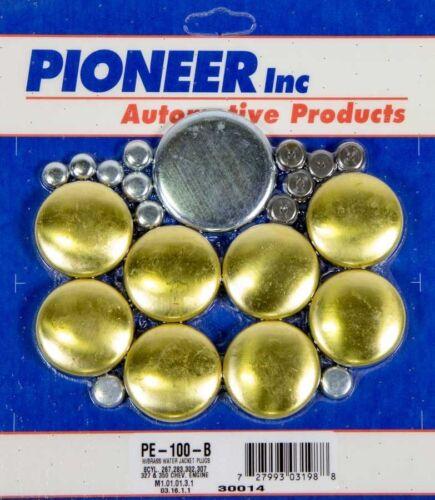 Pioneer PE120BR Cadillac 368 425 472 500 Brass Expansion Freeze Plug Plugs Kit