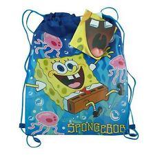 Official Product | SPONGEBOB SQUAREPANTS | Sling Bag Drawstring School Lunch Bag