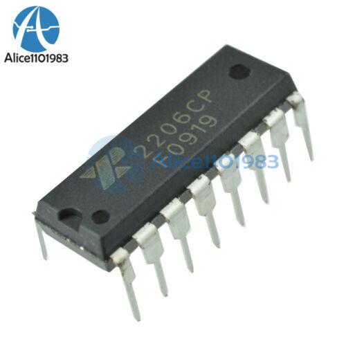 2PCS XR-2206 XR2206CP XR2206 Monolithic Generator DIP-16 IC