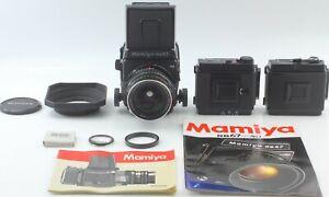 Nuovo-di-zecca-Mamiya-RB67-Pro-SD-Fotocamera-SEKOR-C-50mm-F4-5-6x8-Power-Drive-Holder-Giappone