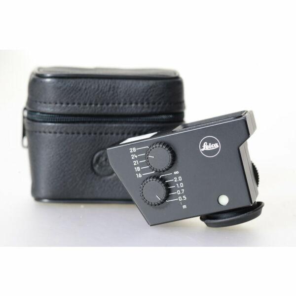 Ambitieux Leica Universel Weitwinkelsucher M Pour Tri-elmar-m 1:4/16-18-21mm Sur M7/m8