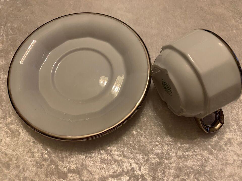 Porcelæn, KAFFEKOP + TEUNDERKOP, PILLIVUYT