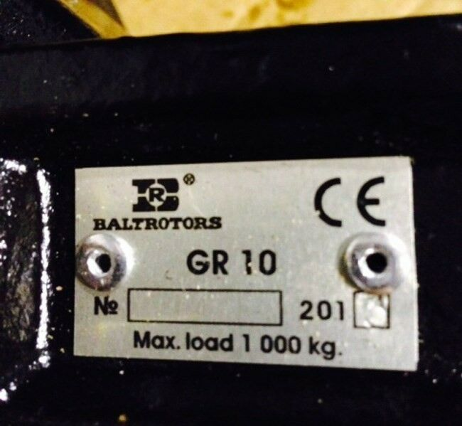 Grab, Deleks DK10 m/rotor