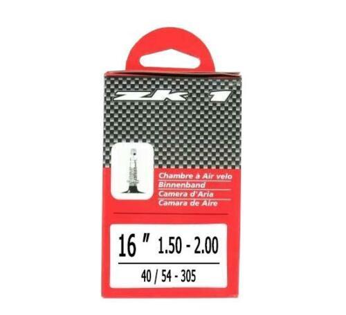 Chambre a air velo enfant 16x1,50-2,00 zk1 valve presta 40mm kid vtt 16 pouces