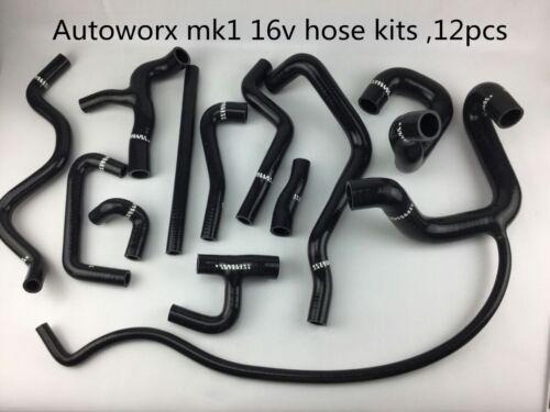 AUTOBAHN AUTOWORX VW MK1 S1 S2 Scirocco 16v Mk1 Rabbit 16v  COOLANT HOSE KIT