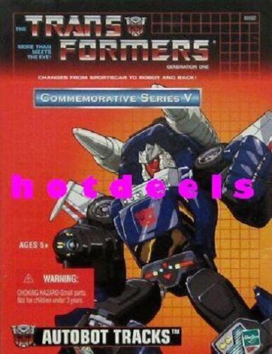 NEUF scellé-Transformers G1 Generation 1-pistes TRU réédition-US Vendeur!