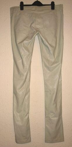 Pantaloni in Bnwt Uk da sintetica Designer skinny Lovely donna Pinko 14 taglia pelle qnXXtUFx