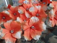 Orange Hibiscus Sa Paper Party-Wedding-Decoration X-mas 110V Light String