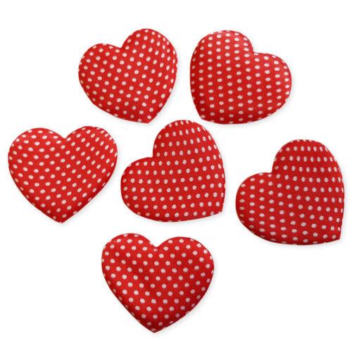 Lunares Corazón San Valentín Artesanía Adornos Scrapbooking Cardmaking 5 un