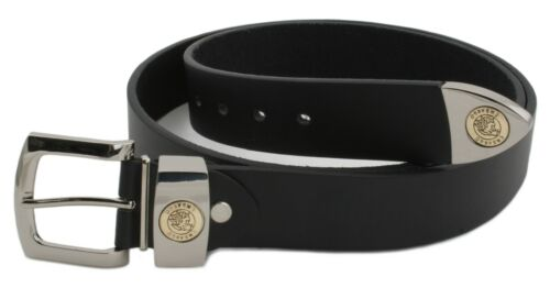 Embargo Homme Grande Taille En Relief Boucle /& montage ceinture noir