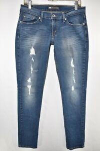 Levi-039-s-524-Too-Superlow-Skinny-Slim-Stretch-Jeans-Womens-Size-9M-Blue-Meas-30x32