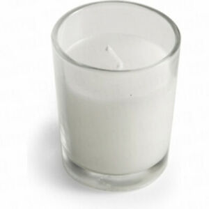 White-Wax-Wedding-Table-Room-Hall-Decoration-Votive-Candle-cglass-BUY-QTY-RQD