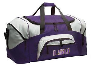 94286fb69cad Image is loading LSU-Gym-Bag-LSU-Tigers-Luggage-BEST-GRADUATION-