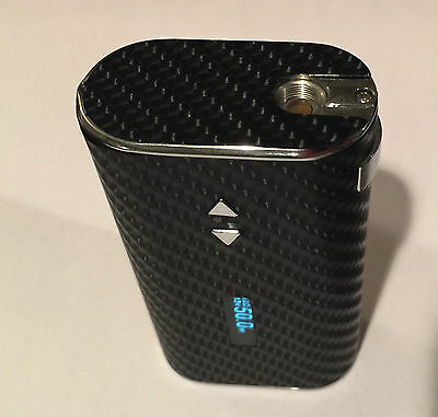 Skin Wrap for iStick 50W Vape Vapor Decal Mod Sticker Cover - BLACK CARBON v2