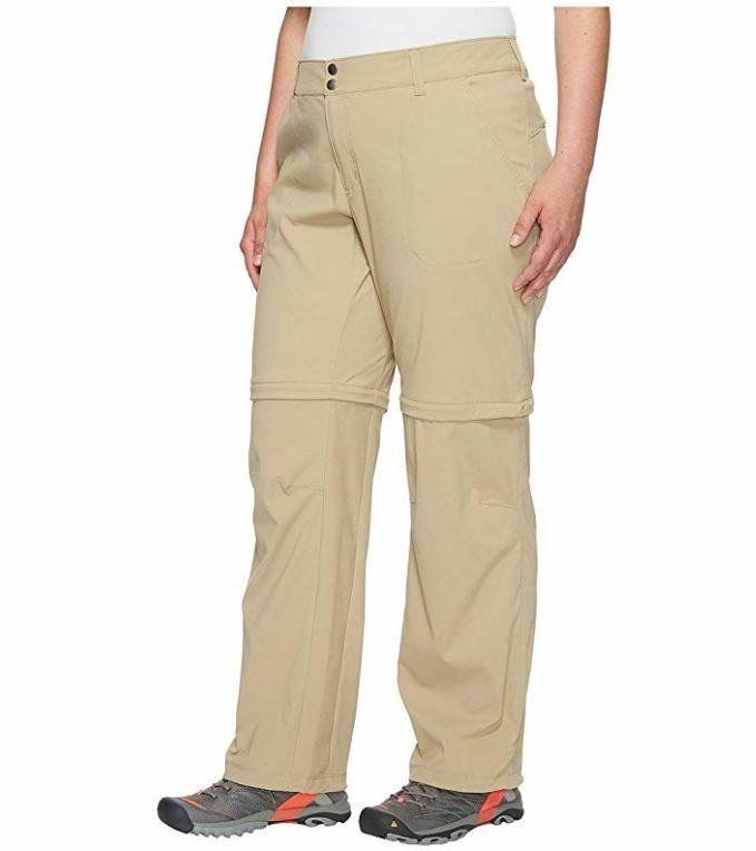 damen'S SATURDAY TRAIL II CONGrünIBLE PANT PLUS Größe 24W SHORT British Tan