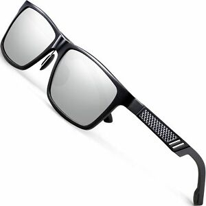 9e151b89c3 Details about ATTCL Men s Hot Retro Al-Mg Metal Frame Driving Polarized  Sunglasses For Men