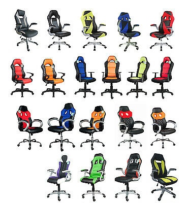 Brand new sporty computer/office chairs, top quality at top prices