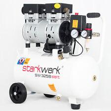 Starkwerk Silent Druckluft Kompressor Flüsterkompressor SW 325/8 Ölfrei 750 Watt
