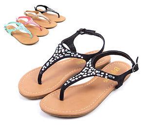 a7a30d7b4b14 Image is loading Black-Cute-Rhinestones-Kids-Buckle-Summer-Sandals-Girls-