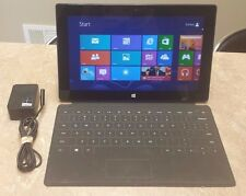 Windows Surface RT 1516 32GB Soft Keyboard/Cover Bundle - Tested & Working E1213