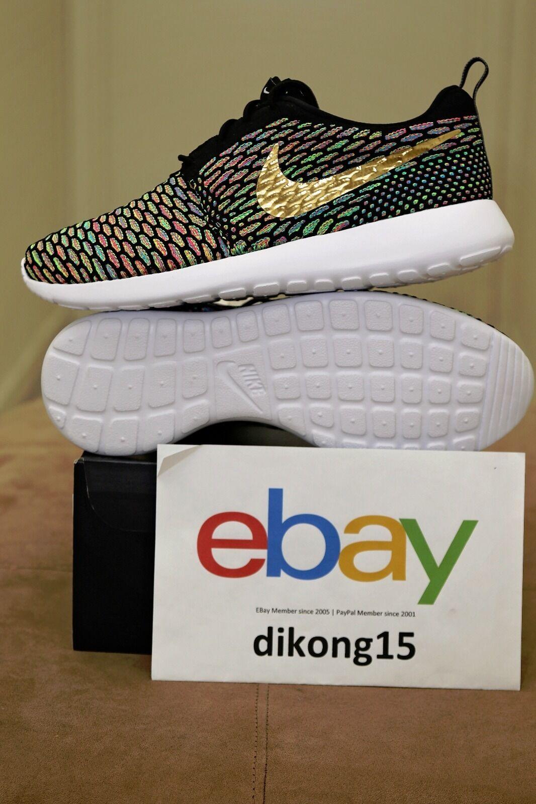 Nike Roshe Run ID Flyknit Multicolor