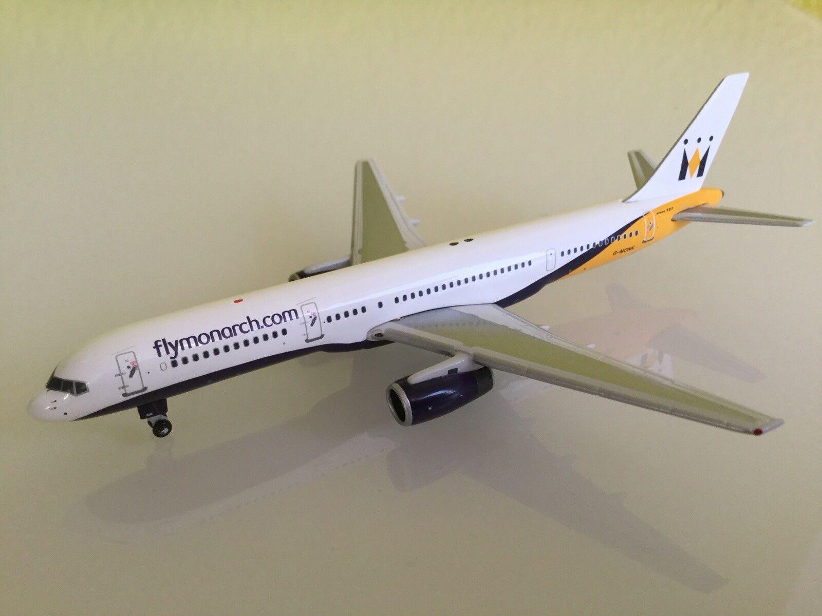 Monarch Airlines métal Boeing 757 Modèle d'Avion, Avion, Jet