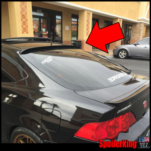 Fits: Acura RSX 2002-06 DC5 StanceNride Rear Roof Spoiler Window Wing 284R