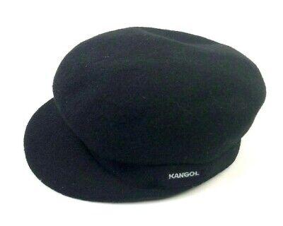 Mens Classic  Kangol  Wool  Enfield  Cap  Color  Dark Flannel
