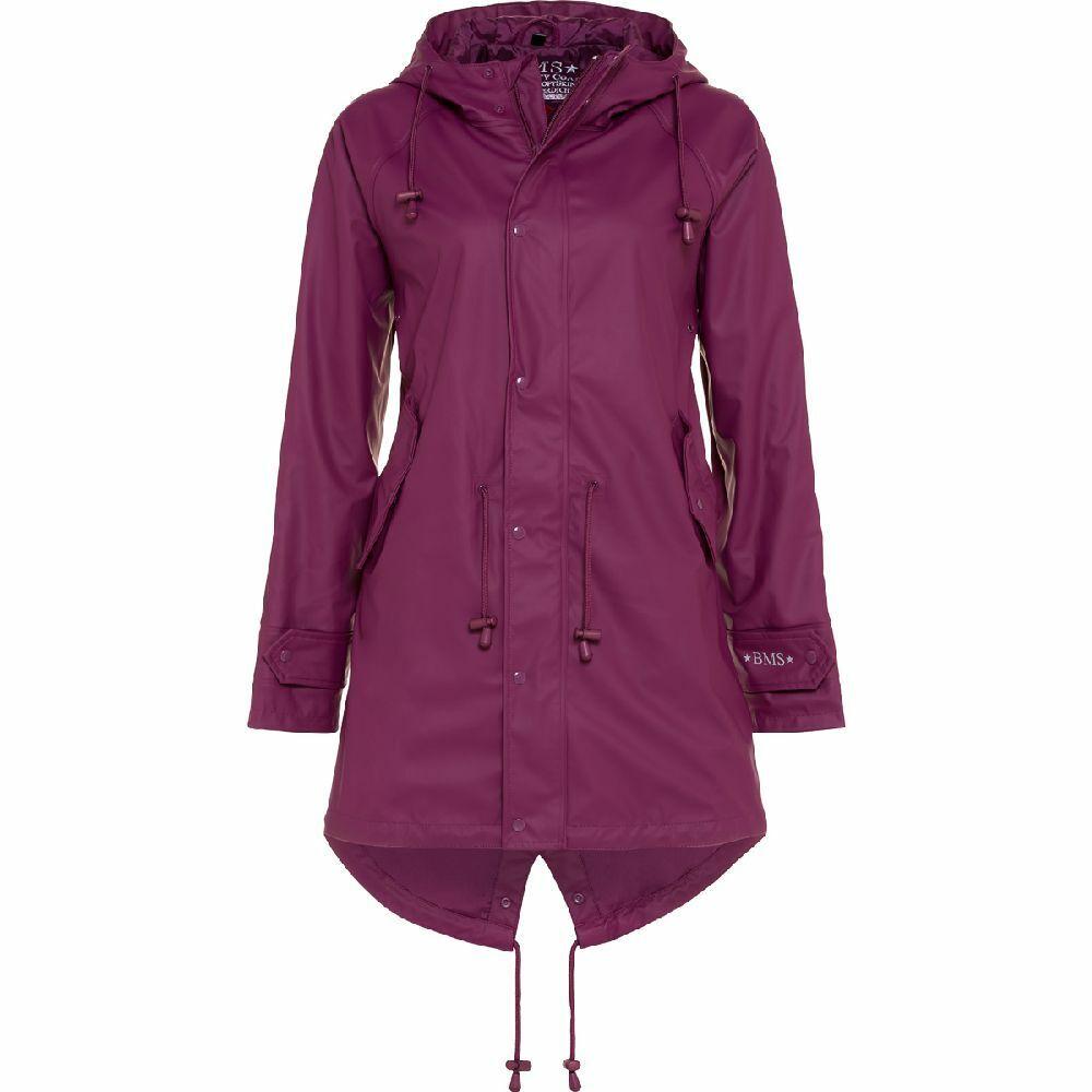 BMS Hafencity Coat -Softskin Purple