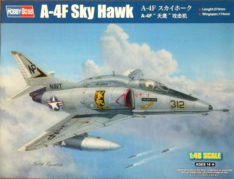Hobbybo 1 48 A -4F Skyhawk flygagagplan modellllerlerl Kit