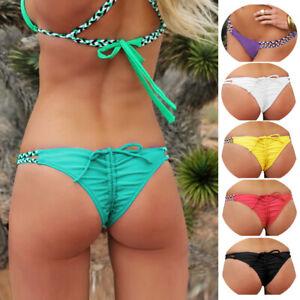 bc6f238532 Femme Brésilien G-String Bas de bikini Baignade Maillots de bain ...