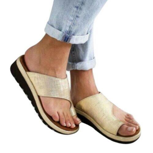 NEW ARRIVAL Summer Soft Womens Comfy Platform Sandal Shoes UK Sizes 2.5-8.5 BON