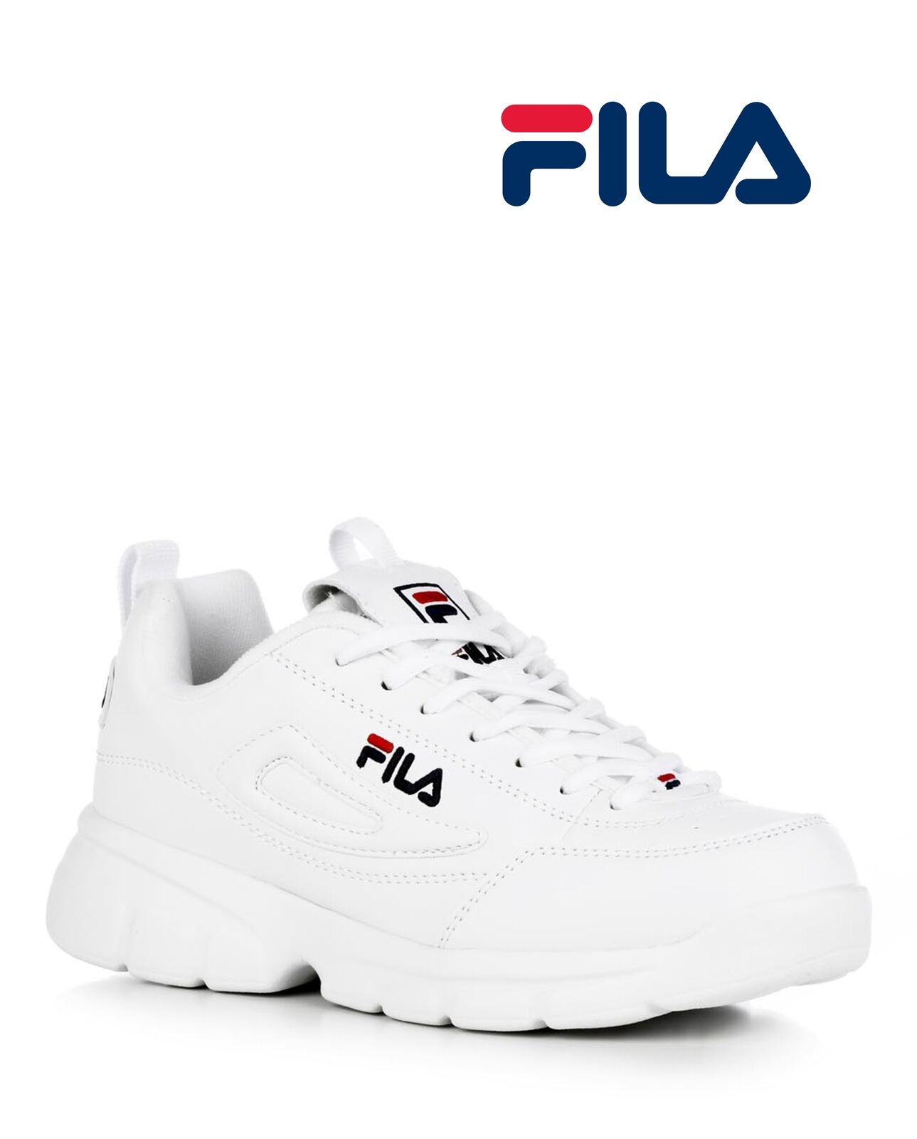 NEW FILA MEN'S DISRUPTOR SE TRAINING SHOE RUNNING ATHLETIC SNEAKERS 1SX60022