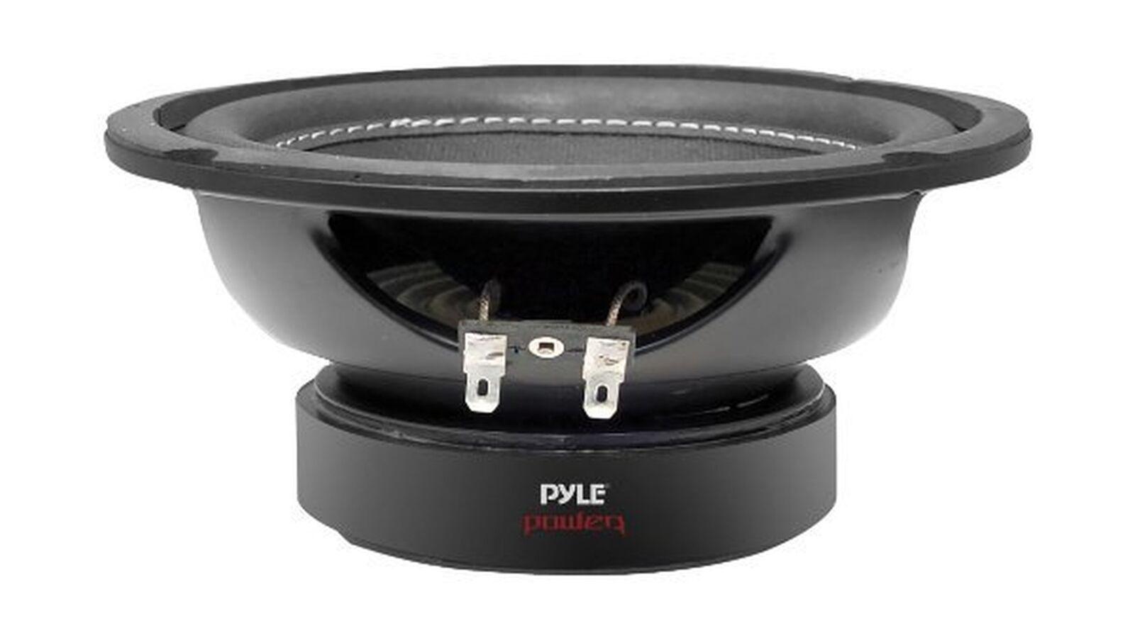 Car Vehicle Subwoofer Audio Speaker 6 Inch Non-Pressed Paper Cone Black...
