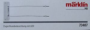 Märklin 73407 Zugschlussbeleuchtung mit LED #NEU in OVP