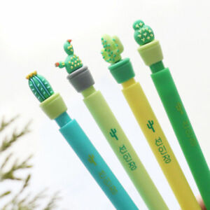 1pcs-0-5mm-Cute-Cactus-Plastic-Mechanical-Pencil-Automatic-Pen-Stationery-NEW