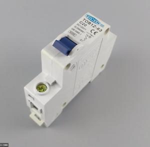 20A 1P DC Circuit Breaker MCB Solar Fuse C20 125v  TOB1Z-63 UK STOCK
