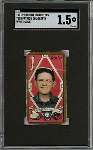 Rare 1911 T205 Gold Border Patrick Dougherty Piedmont Chicago White Sox SGC 1.5