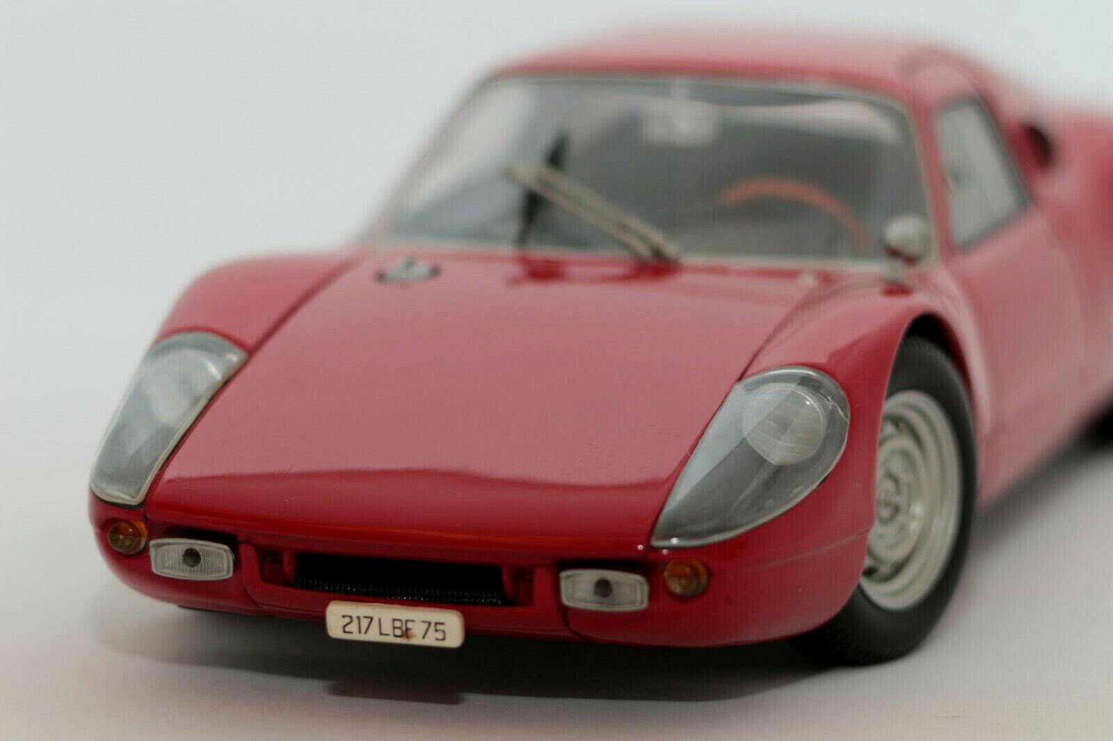 1 18 Porsche 904 Carrera GTS (1964)   rosso   Minichamps   COCHE MODELO DIECAST