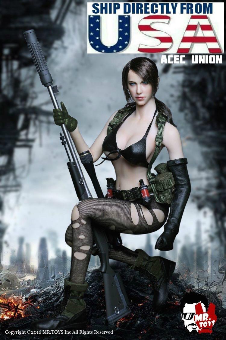 1 6 Metal Gear Solid Quiet Sexy Female Sniper Figure Premium Full Set A U.S.A.