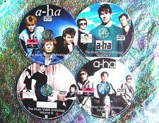 A-Ha Morten Harket Music Video Retrospective Reel 1984-2017 4 DVD Set 87 Videos