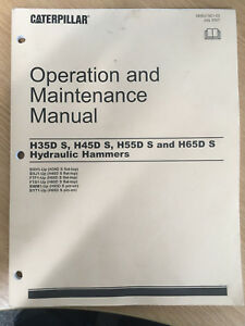 Details about CAT Operation and Maintenance Manual Hydraulic hamers