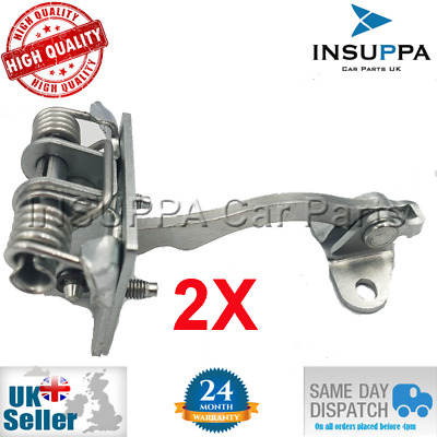 2X FRONT DOOR LIMITER HINGE FOR JAGUAR S-TYPE BOTH SIDES 1999-2007 XR835423552AA